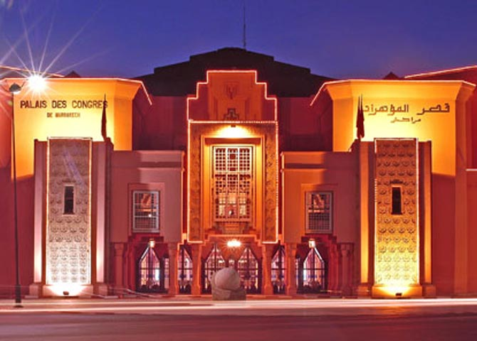 Palais des congrs - Marrakech