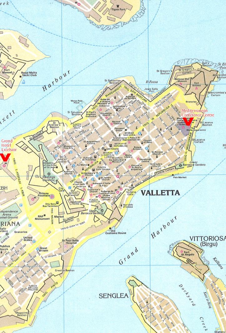 Lrec 2010 Valletta Map